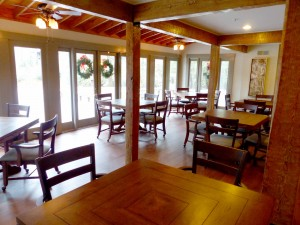 Canoe lodge has a beautiful fresh new look inside the gates for The lodge at big canoe