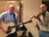 Marty Holmes and Art Shand perform a Steve Papke original tune. (Photo by Ruth Herzler)
