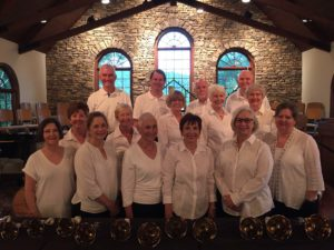 The Chapel Bell Choir will perform on December 8. (Photo provided by the Big Canoe Chapel)