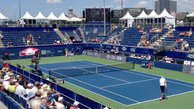 Wheels of the bus go round to the BB&T Atlanta Open - Inside the Gates